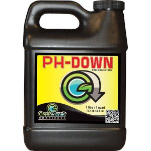 Green Planet Ph Down, Green Planet nutrients, Growing Exposed, Best Ph down